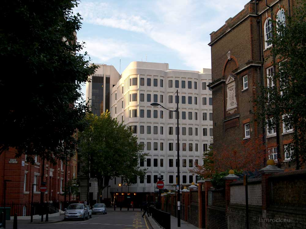 Camden Town Hall, School on the right.